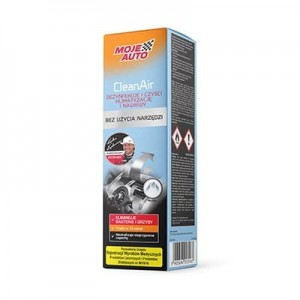PREPARAT DO DEZYNFEKCJI KLIMATYZCJI CLEAN AIR ARCTIC OP 150 ML. MOJE AUTO 19-583